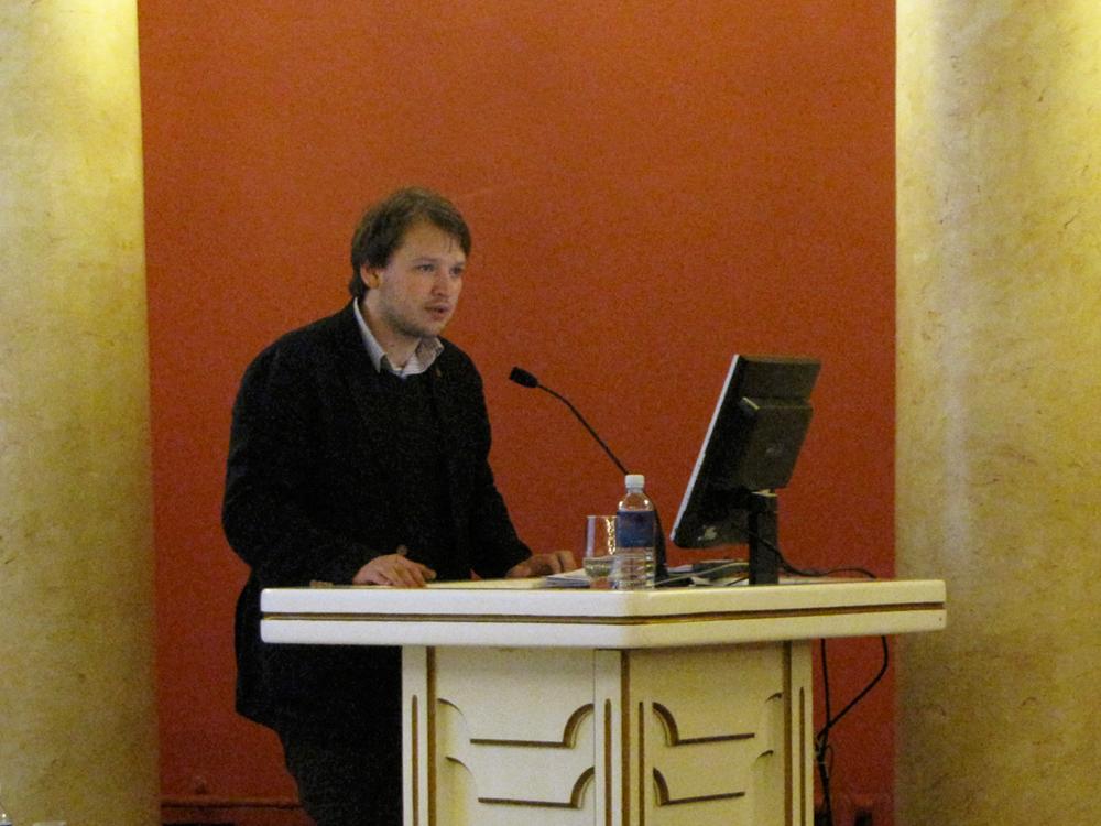 Arminas Varanauskas – President of Vilnius University Students' Representation