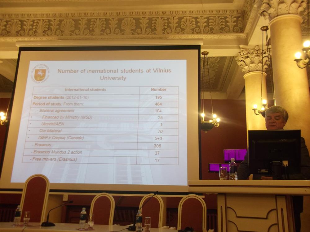 Dr. Rimantas Vaitkus – Pro-Rector of Vilnius University