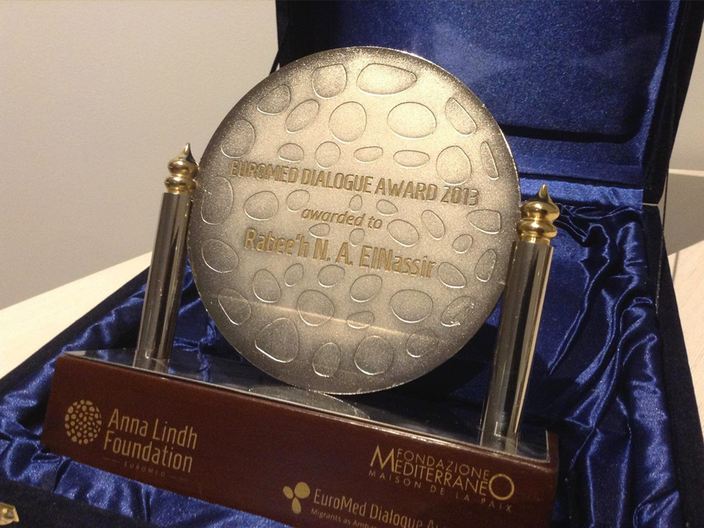 Euromed Dialogue Award 2013