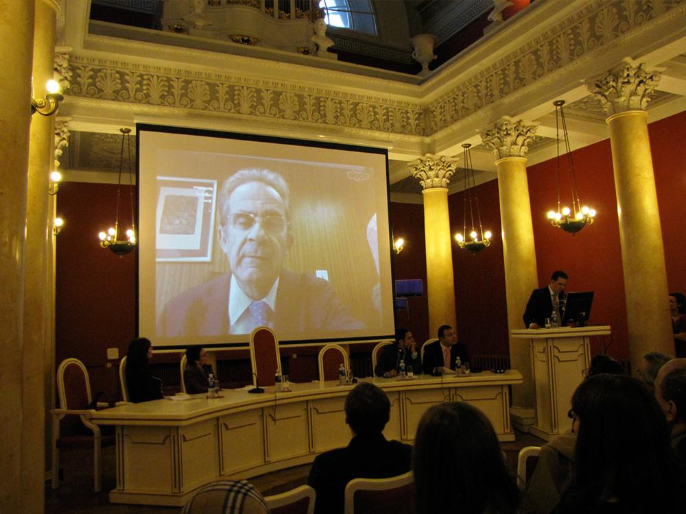 Internetinis tiltas su ALF Direktoriumi Andreu Claret