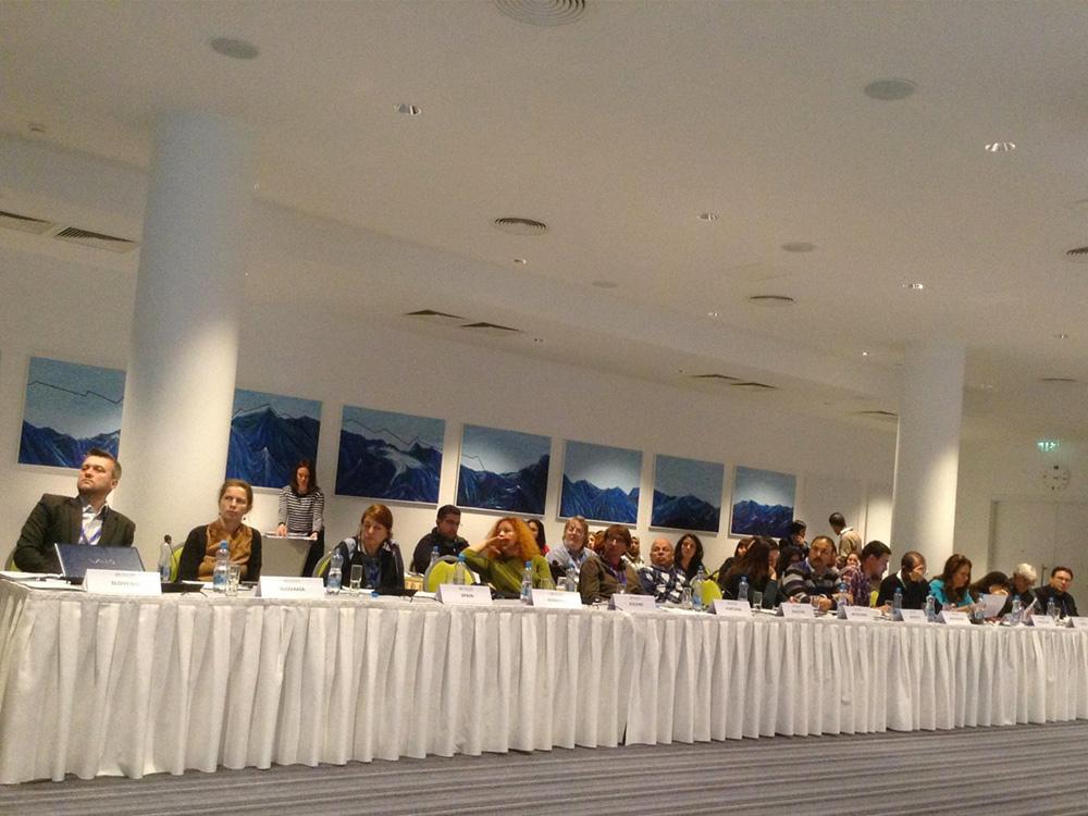 Anna Lindh fondo nacionalinių tinklų vadovų susitikimo metu
