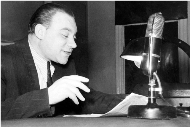 Aktorius Jonas Kavaliauskas radijuje