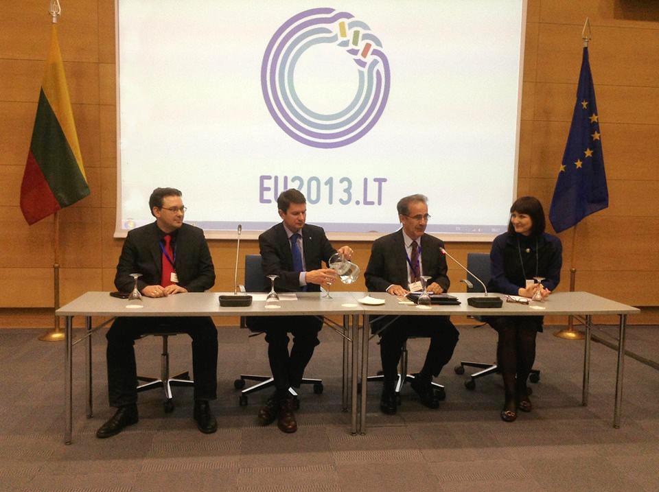 Anna Lindh fondo nacionalinių tinklų vadovų susitikimo atidarymas LR Užsienio reikalų ministerijoje