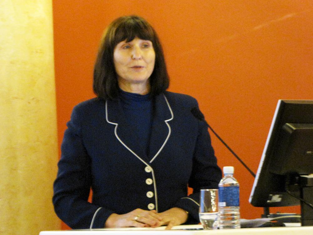 LR Užsienio reikalų ministerijos atstovė Jane Hanel