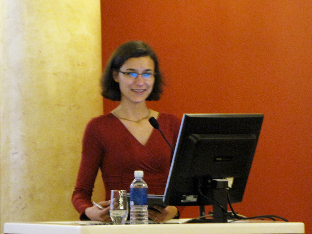 Konferencijos moderatorė Jolita Bečienė