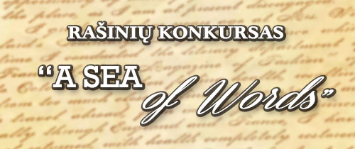 Konkursas - Sea of words